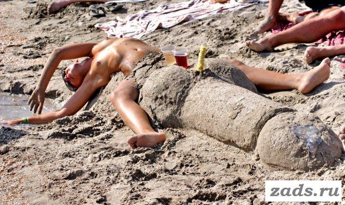 Фото подборка отдыхающих голых баб