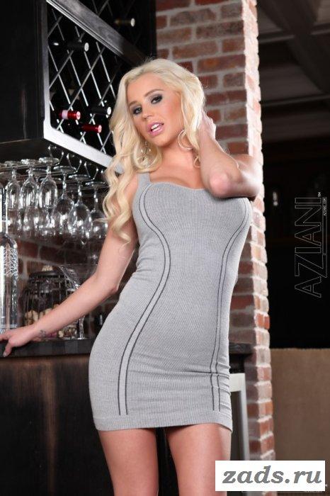 Сверх сексуальная блондинка переходит границы