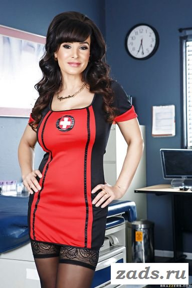 Знаменитая Lisa Ann в роли доктора